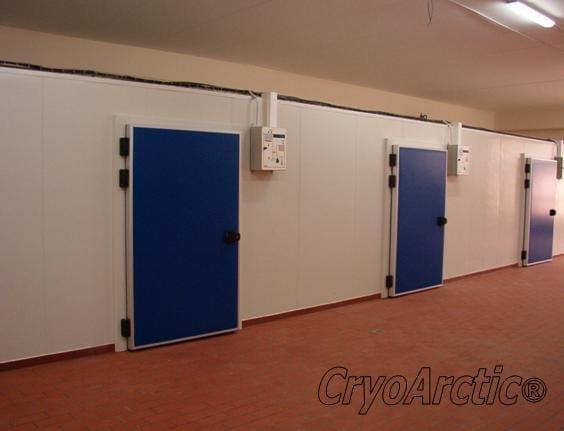 Cold rooms, Refrigerators