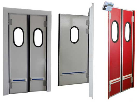 Doors with Paffage for Slide Guide