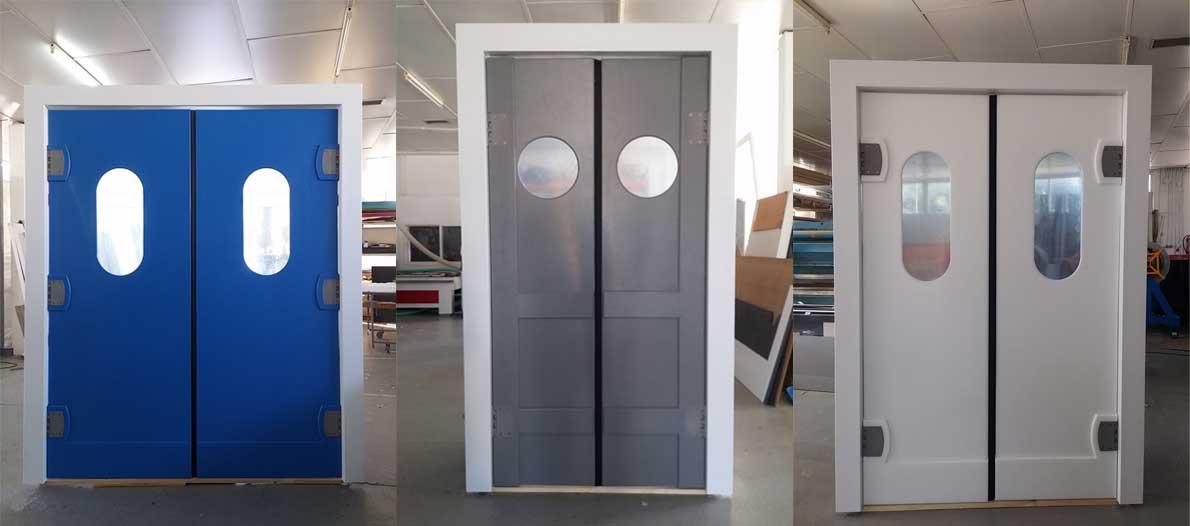 Πόρτες Flip-Flap πολυαιθυλενίου